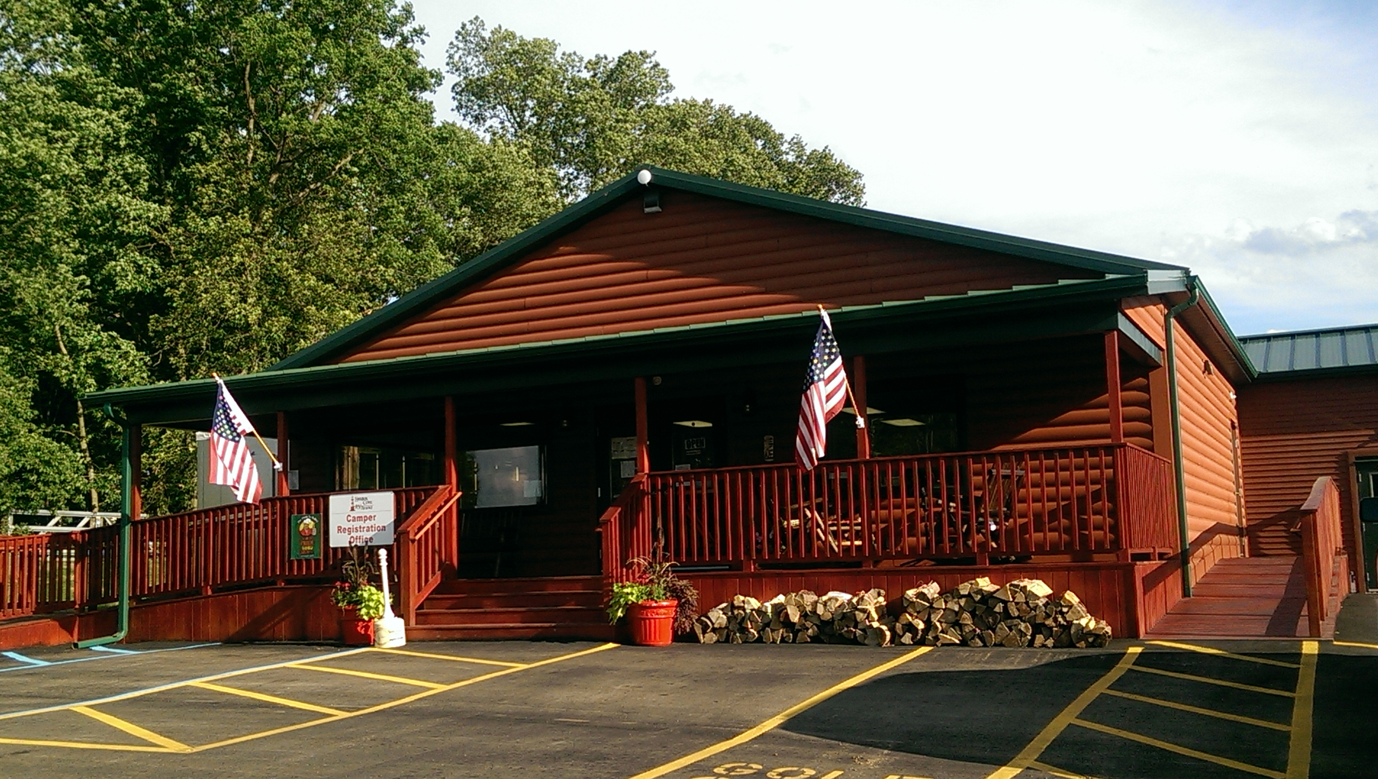 About The Harbor Cove Rv Resort In Coldwater Michigan